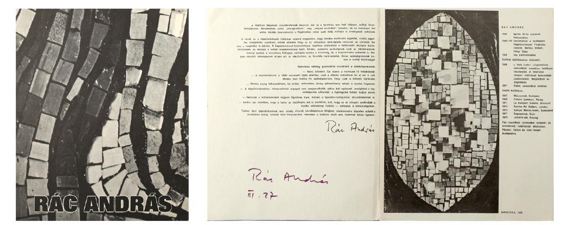 ANDRAS RAC HUNGARIAN 1926-2015 - 5