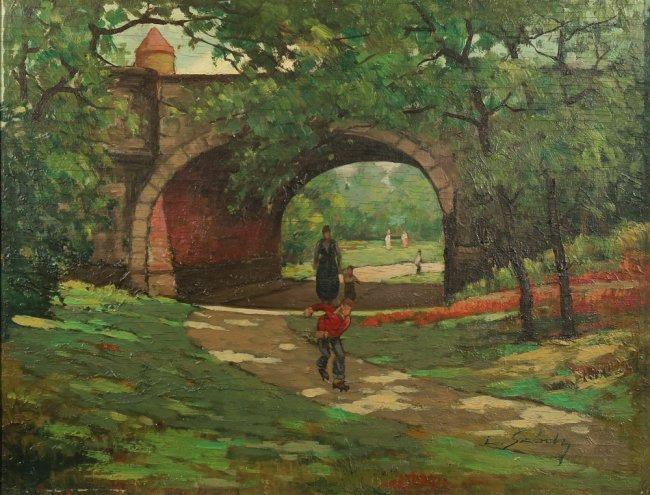 LADISLAO SZODY HUNGARIAN 20TH CENTURY - 3