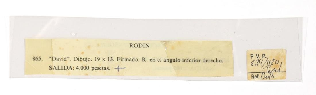 AUGUSTE RODIN FRENCH 1840-1917 - 5