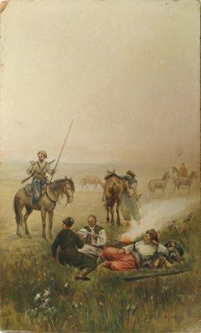 SERGEI IVANOVICH VASILKOVSKY RUSSIAN 1854-1917