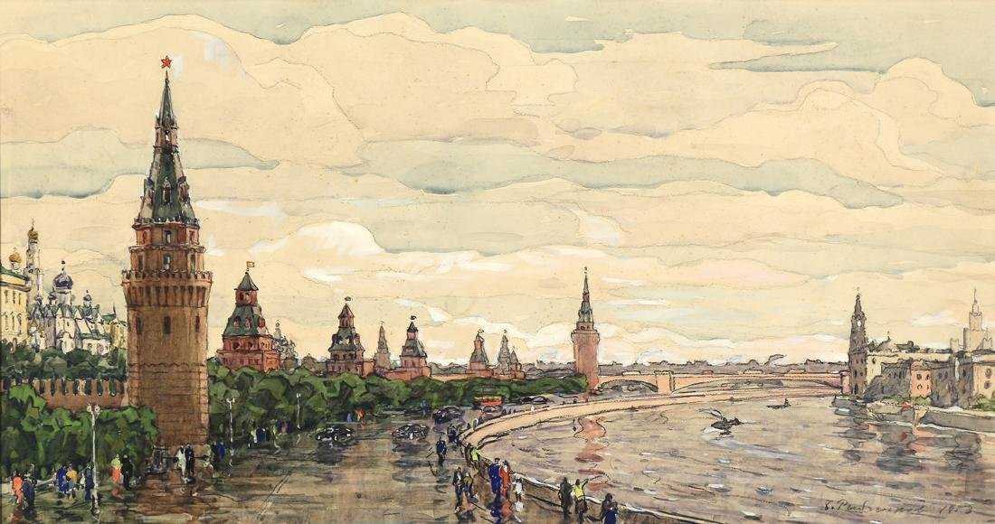 BORIS FEDOROVICH RYBCHENKOV RUSSIAN 1899-1994