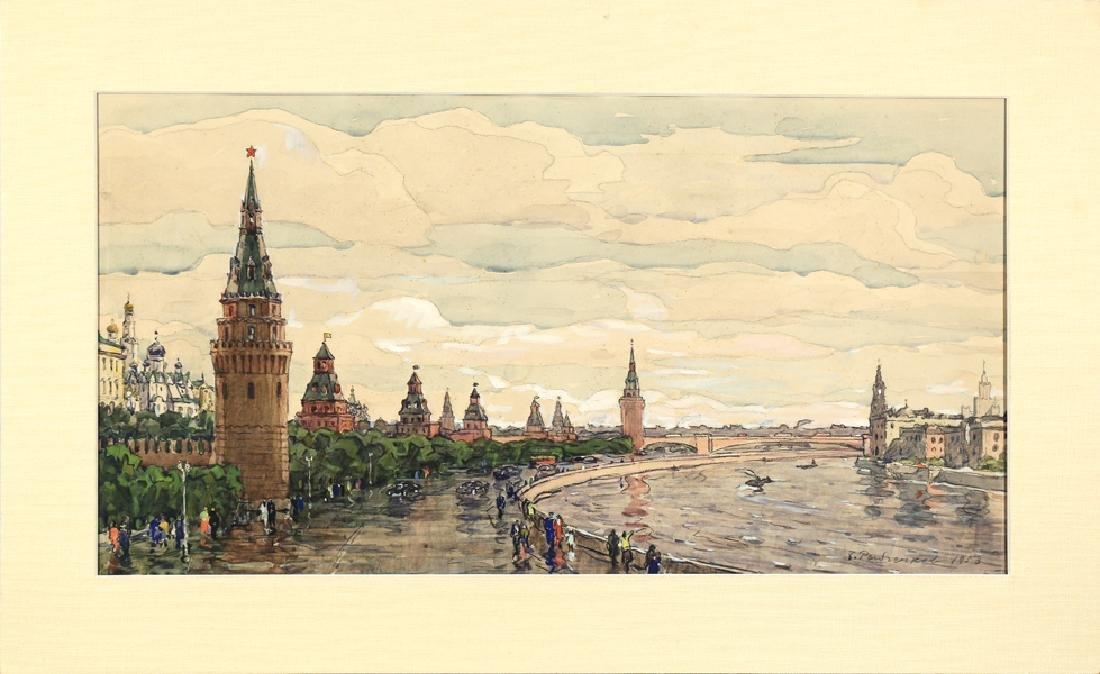 BORIS FEDOROVICH RYBCHENKOV RUSSIAN 1899-1994 - 2
