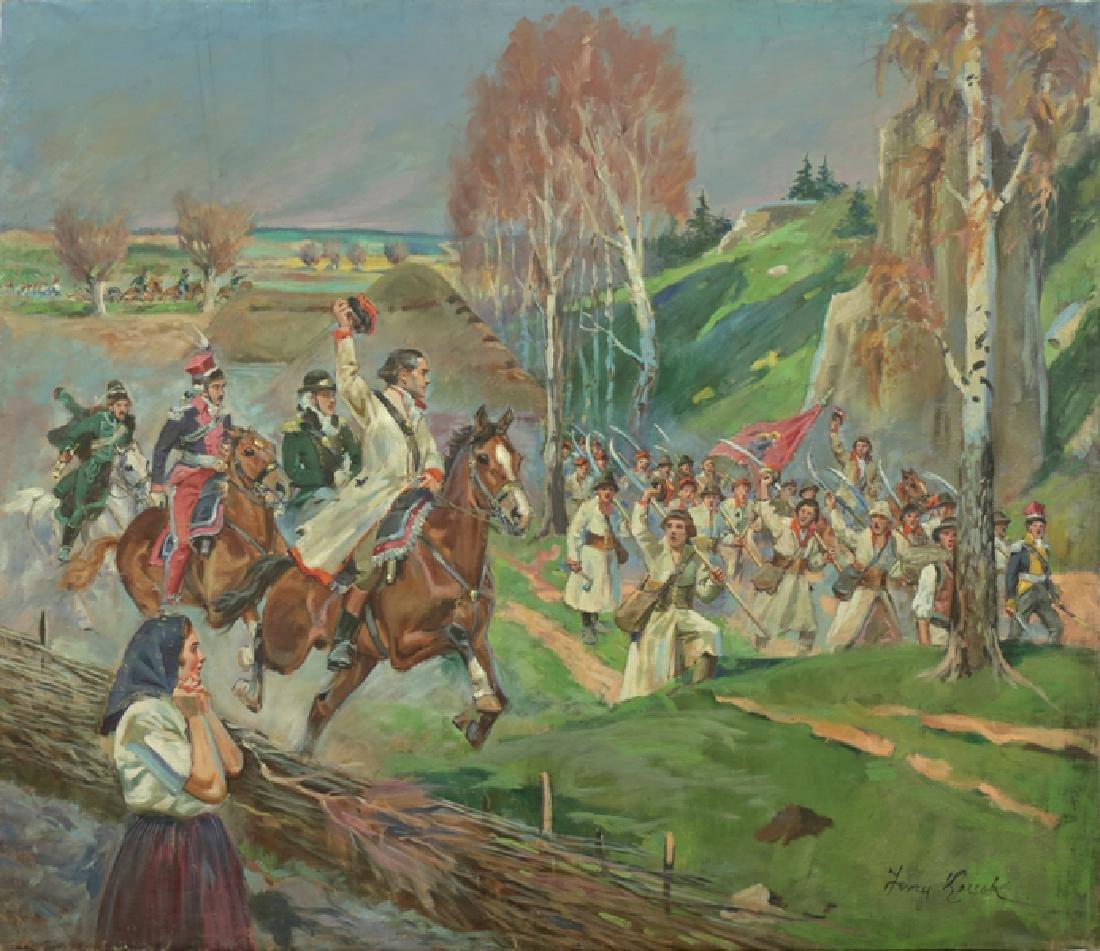 JERZY KOSSAK POLISH 1886-1955