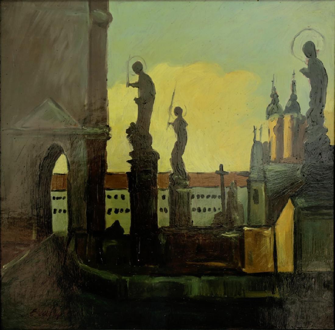 ADALBERT (BELA) ERDELYI UKRAINIAN/HUNGARIAN 1891-1955