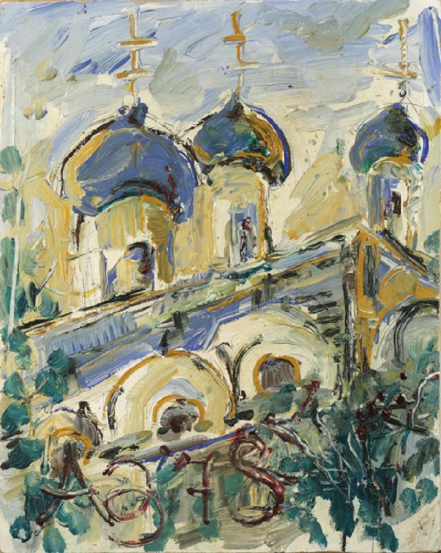 ANATOLY ZVEREV RUSSIAN 1931-1986