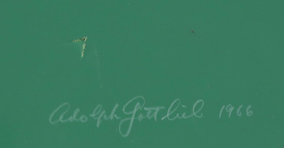 ADOLPH GOTTLIEB AMERICAN 1903-1974 - 4