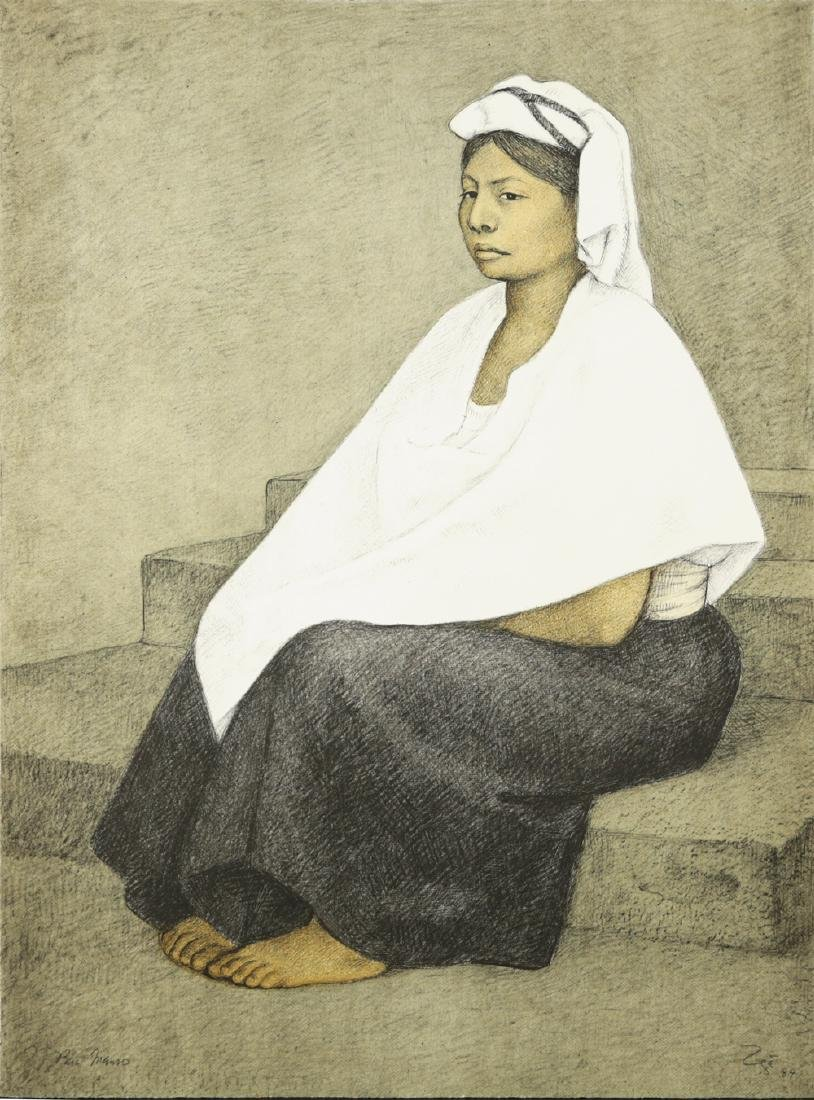 FRANCISCO ZUNIGA MEXICAN 1912-1998
