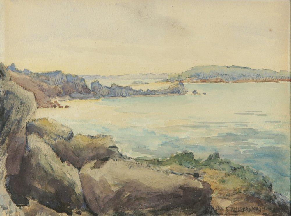 JAN STANISLAWSKI POLISH 1860-1907