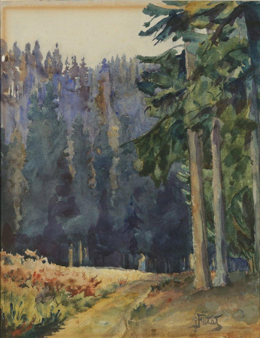 JULIAN FALAT POLISH 1853-1929