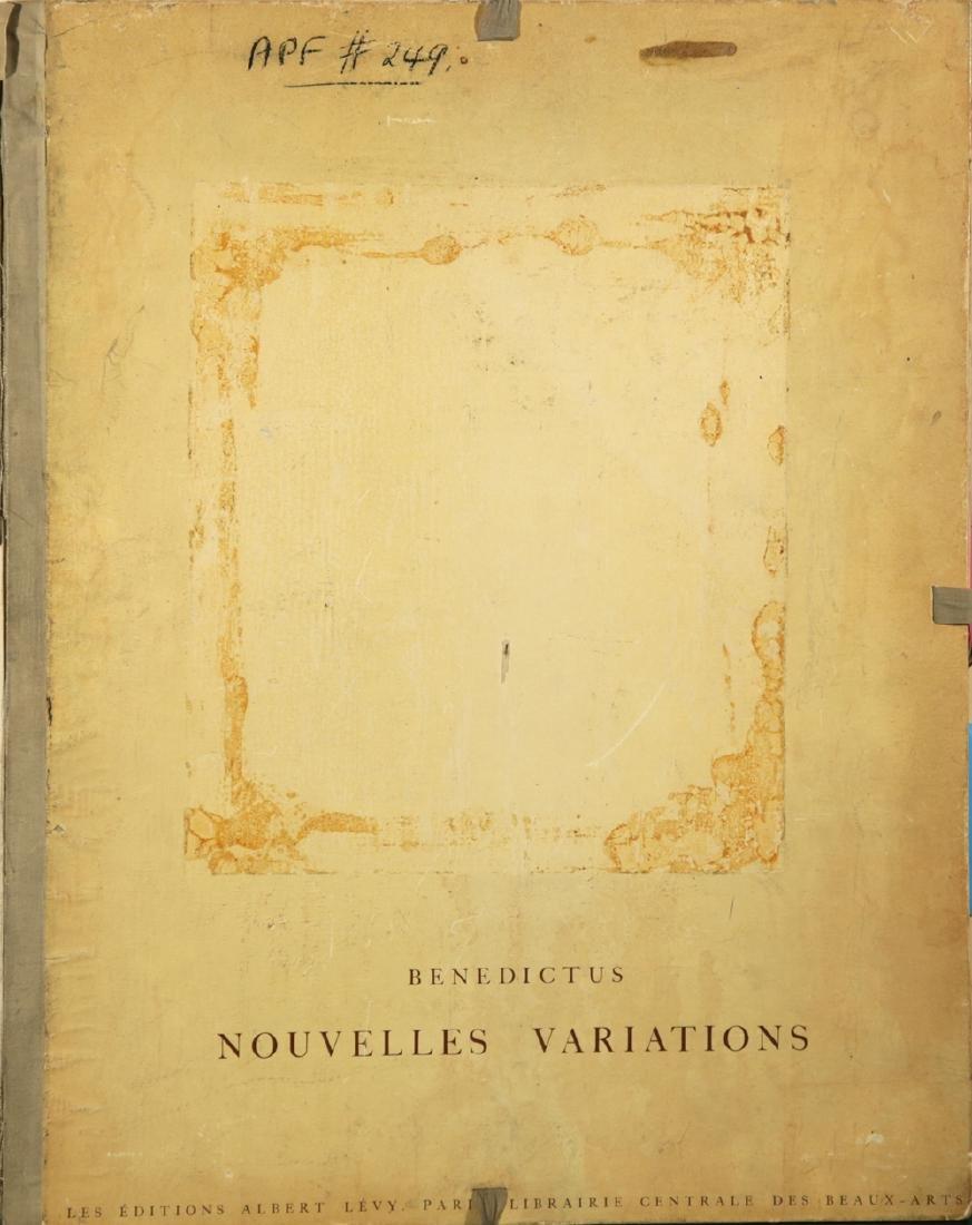 BENEDICTUS NOUVELLES VARIATIONS