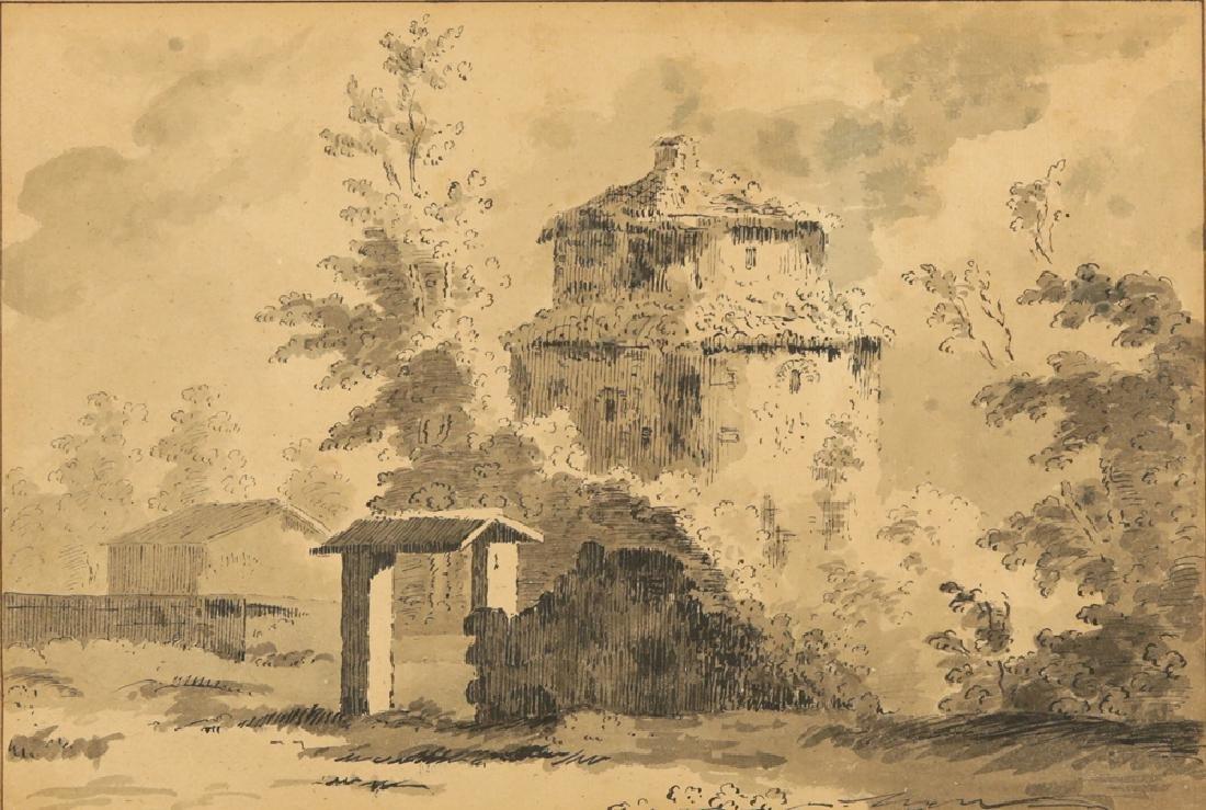 THOMAS ROWLANDSON (ATTR) BRITISH 1756-1827