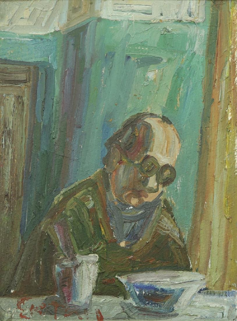 NICOLAI SUETIN (ATTR) RUSSIAN/AMERICAN B.1920