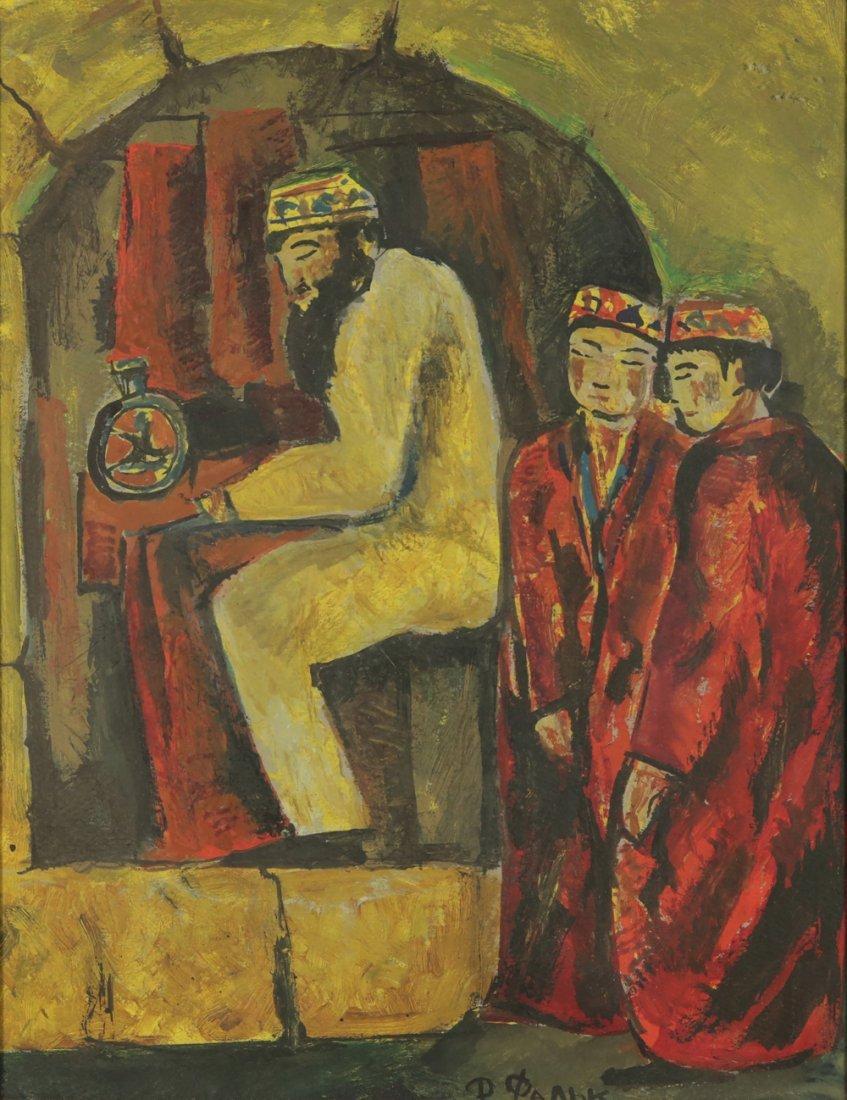 ROBERT FALK (ATTR) RUSSIAN 1886-1958