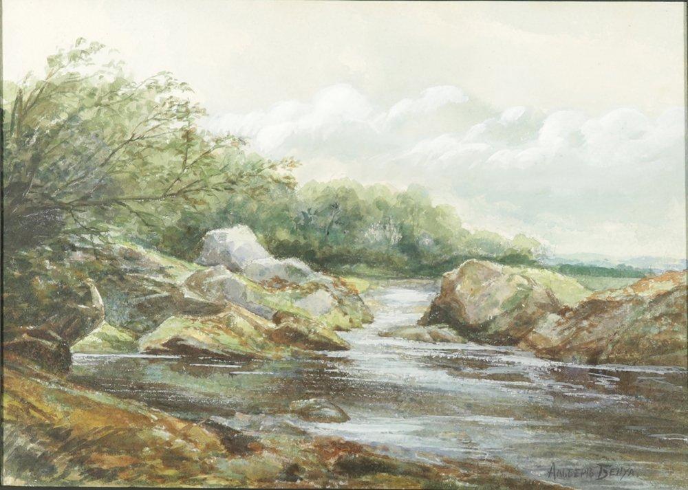 ALBERT BENOIS RUSSIAN B.1888