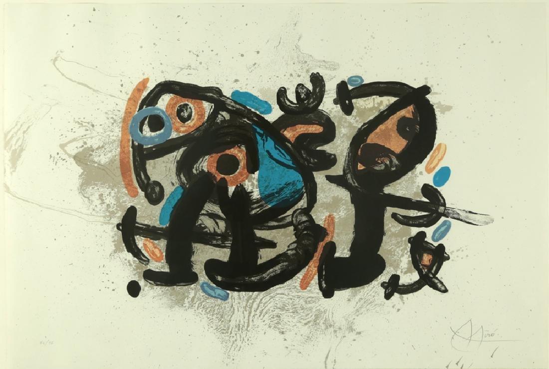 JOAN MIRO SPANISH/FRENCH 1893-1963