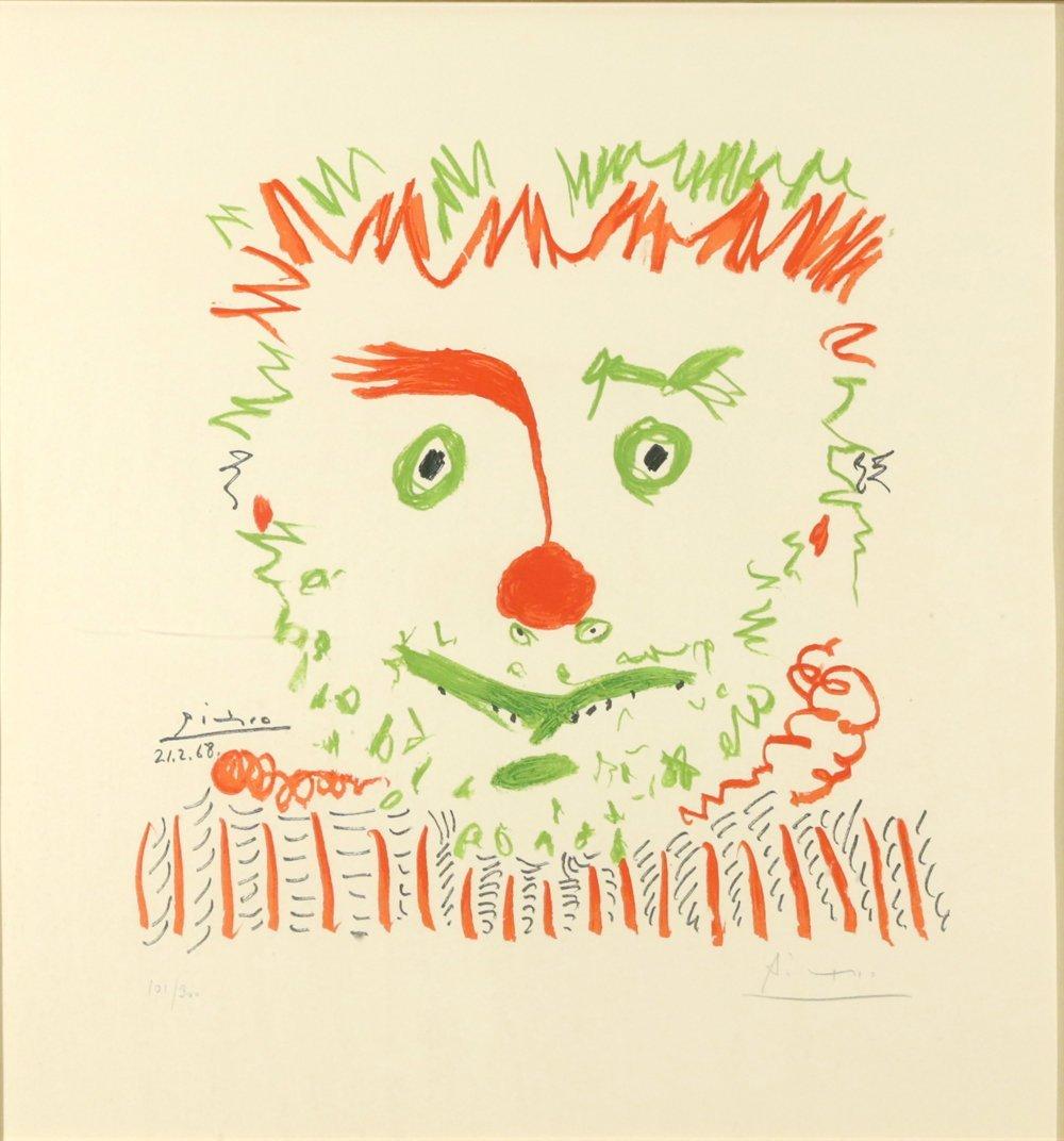PABLO PICASSO SPANISH 1881-1973