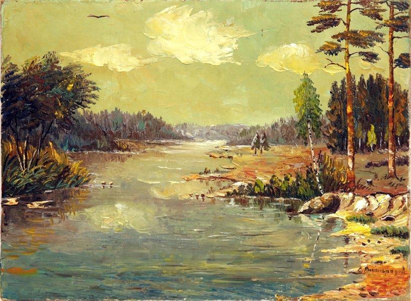 SERGEI ARSENEVICH VINOGRADOV RUSSIAN 1869-1938