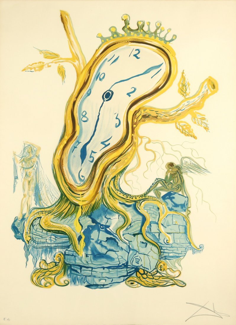 SALVADOR DALI SPANISH 1904-1989