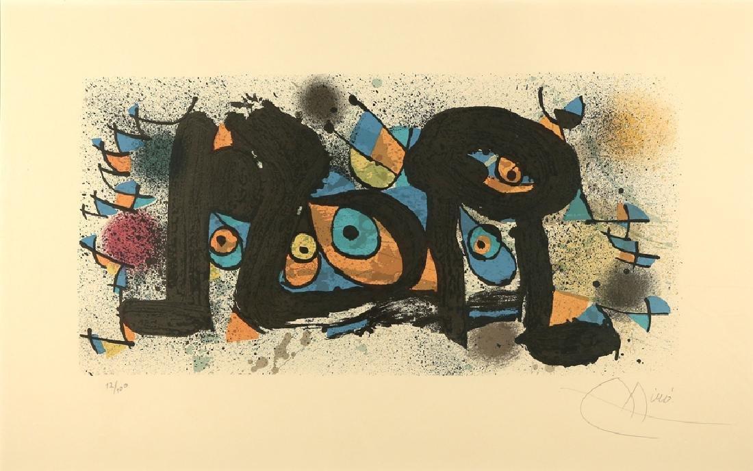 JOAN MIRO SPANISH 1893-19839