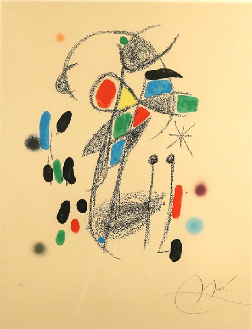 JOAN MIRO SPANISH 1893-1983