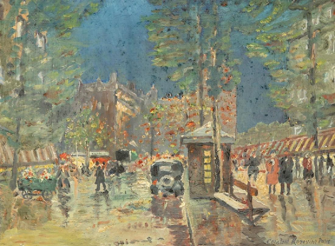 KONSTANTINE A. KOROVIN RUSSIAN/FRENCH 1861-1939