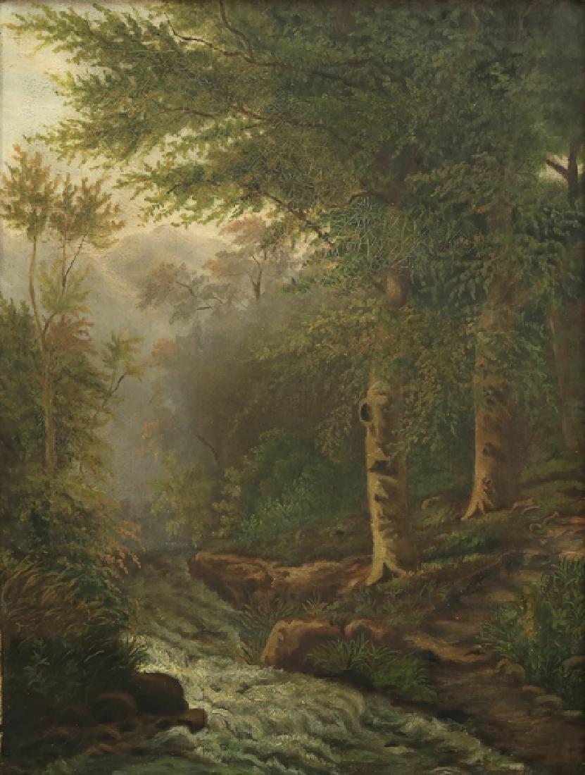 EDWARD HILL AMERICAN 1843-1923