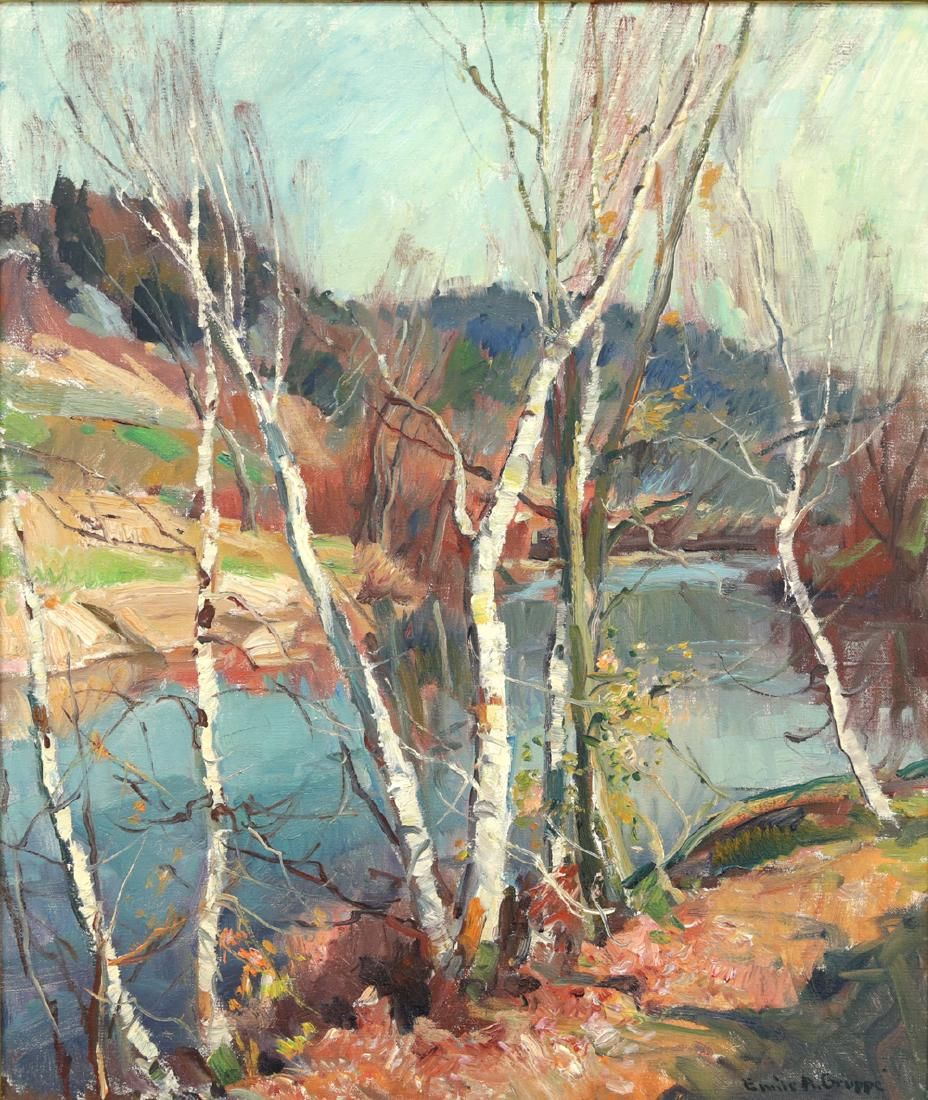 EMILE GRUPPE AMERICAN 1896-1978
