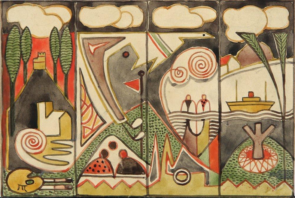 MARGUERITE ZORACH AMERICAN 1887 - 1968