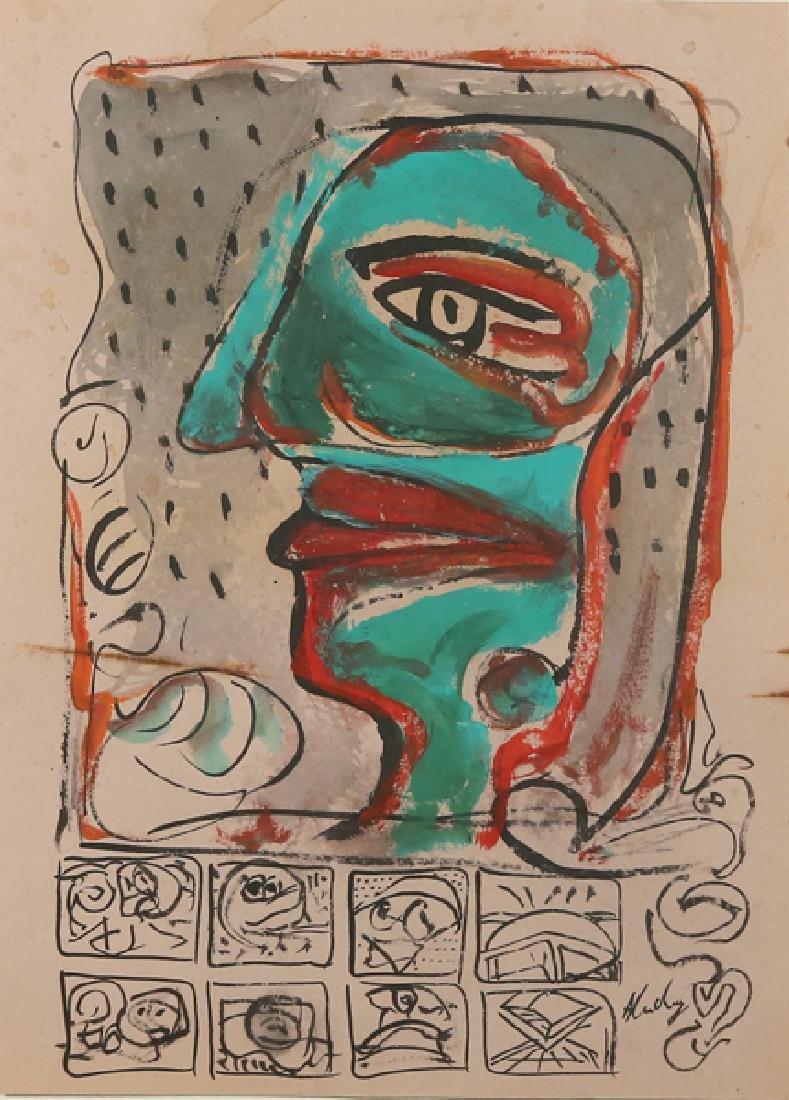 PIERRE ALECHINSKY BELGIUM B.1927