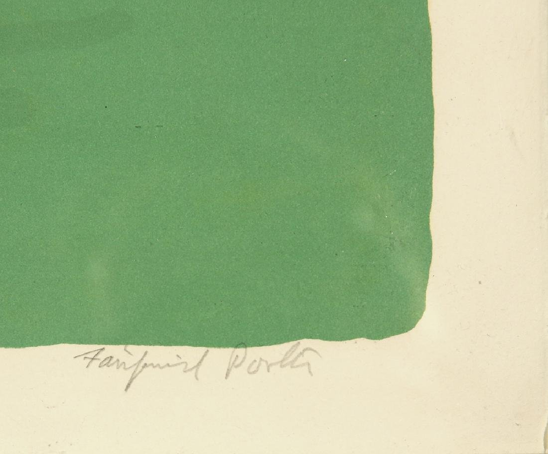 FAIRFIELD PORTER AMERICAN 1907-1985 - 4