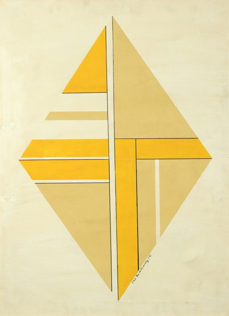ILYA BOLOTOWSKY RUSSIAN/AMERICAN 1907-1981