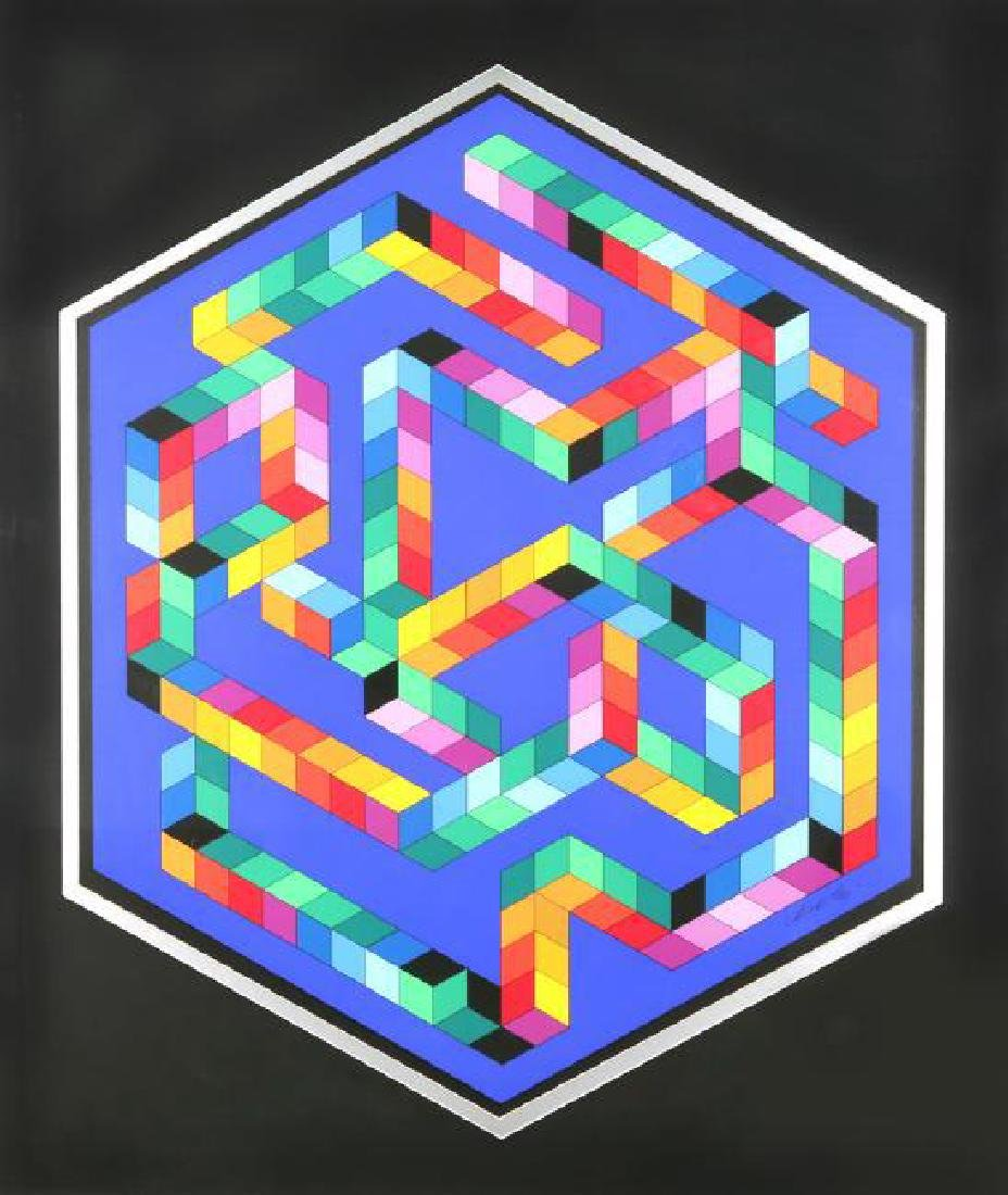 VICTOR VASARELY HUNGARIAN/FRENCH 1906-1997