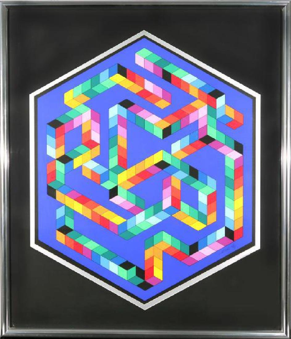 VICTOR VASARELY HUNGARIAN/FRENCH 1906-1997 - 2