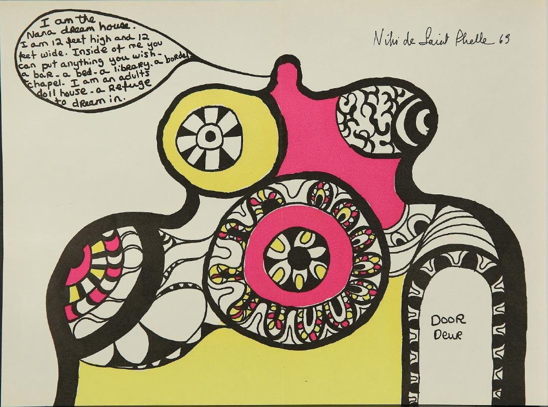NIKI de SAINT PHALLE FRENCH 1930-2002