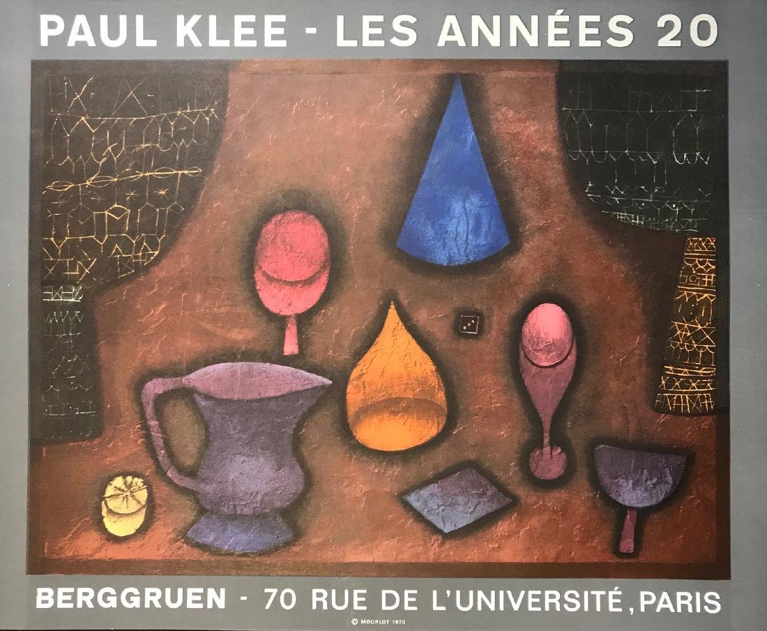 PAUL KLEE SWISS/GERMAN 1879-1940