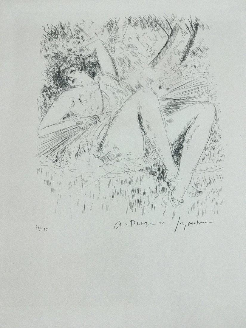 ANDRE DUNOYER DE SEGONZAC FRENCH 1884-1974