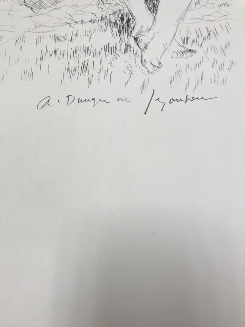ANDRE DUNOYER DE SEGONZAC FRENCH 1884-1974 - 2