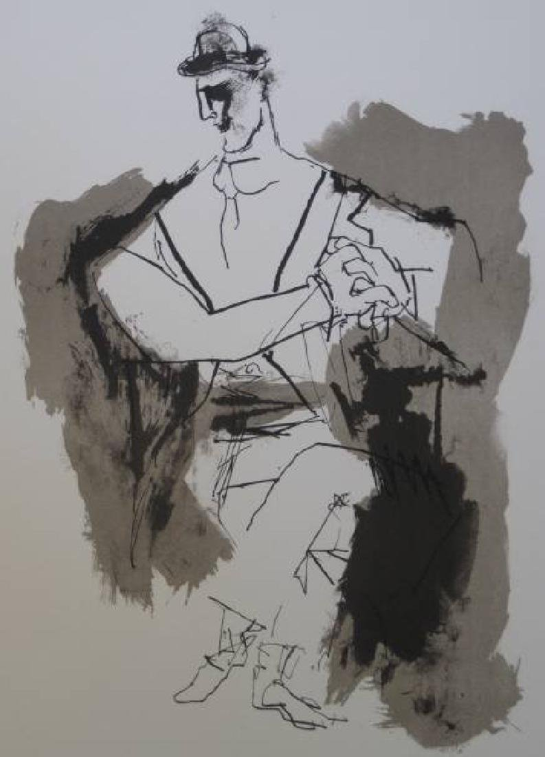 ABRAHAM RATTNER AMERICAN 1893-1978