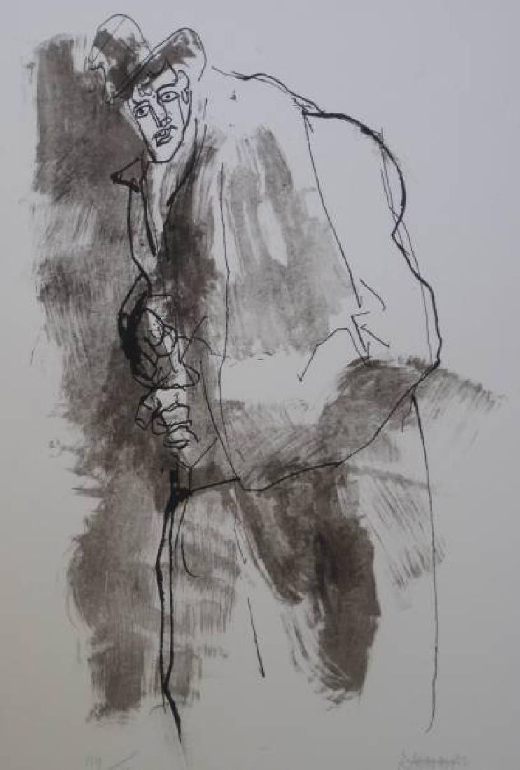 ABRAHAM RATTNER AMERICAN 1893-1978 - 2