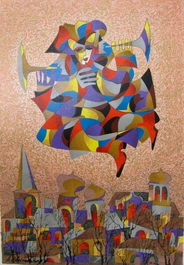 ANATOLE KRASNYANSKY UKRAINIAN/AMERICAN B.1930