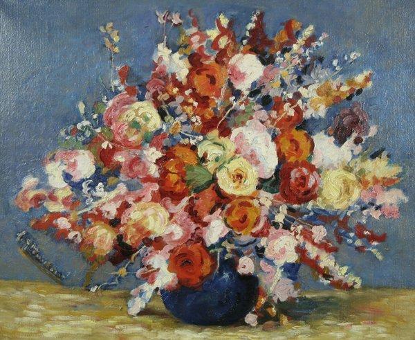 13: ALEXANDRE ALTMANN B1885 Russian Oil Painting