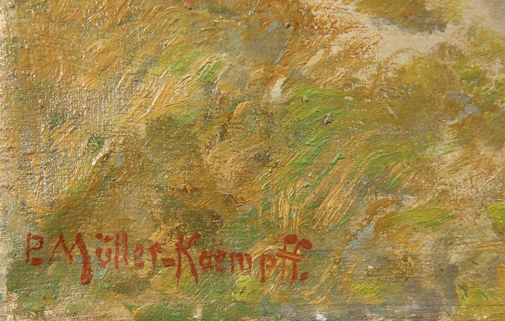 PAUL MULLER-KAEMPFF GERMAN 1861-1941 - 2