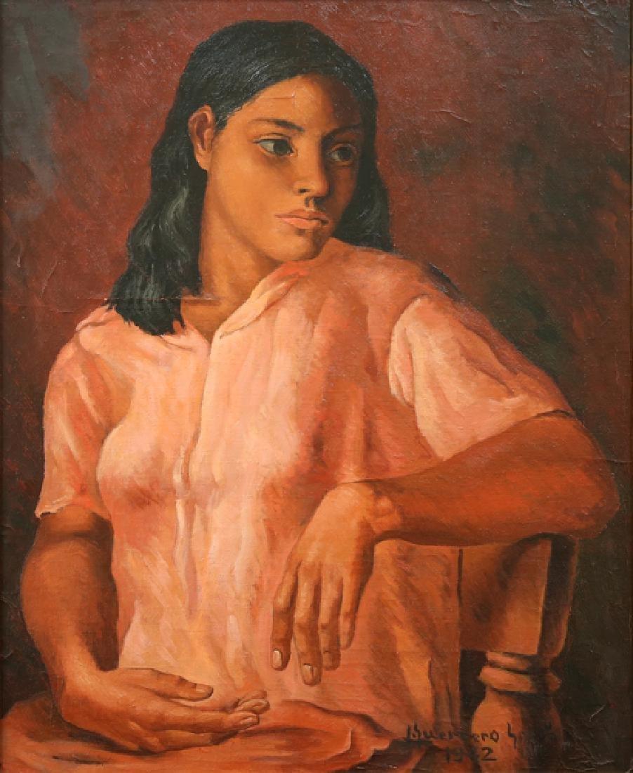 JESUS GUERACO GALVAN MEXICAN 1910-1973