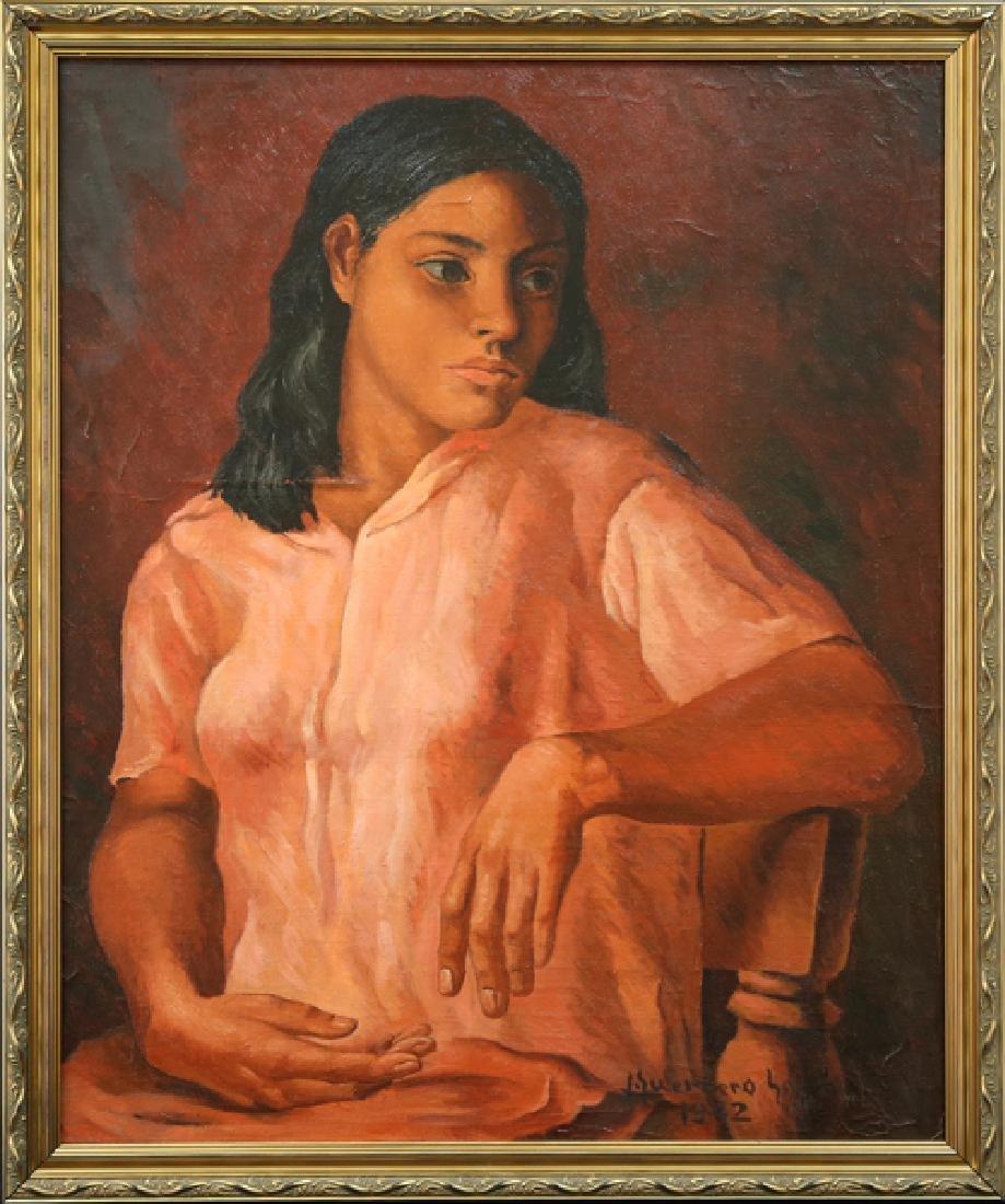 JESUS GUERACO GALVAN MEXICAN 1910-1973 - 2
