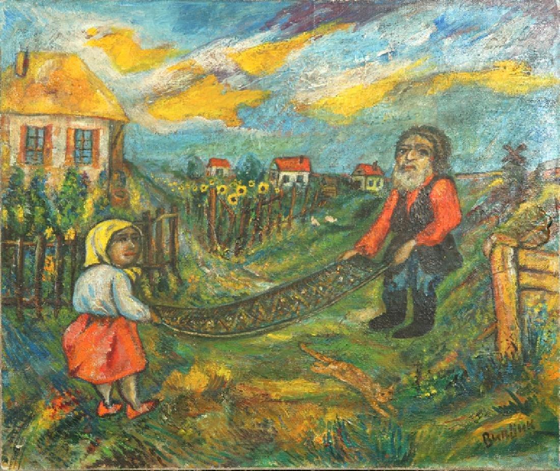 DAVID DAVIDOVICH BURLIUK RUSSIAN/AMERICAN 1882-196