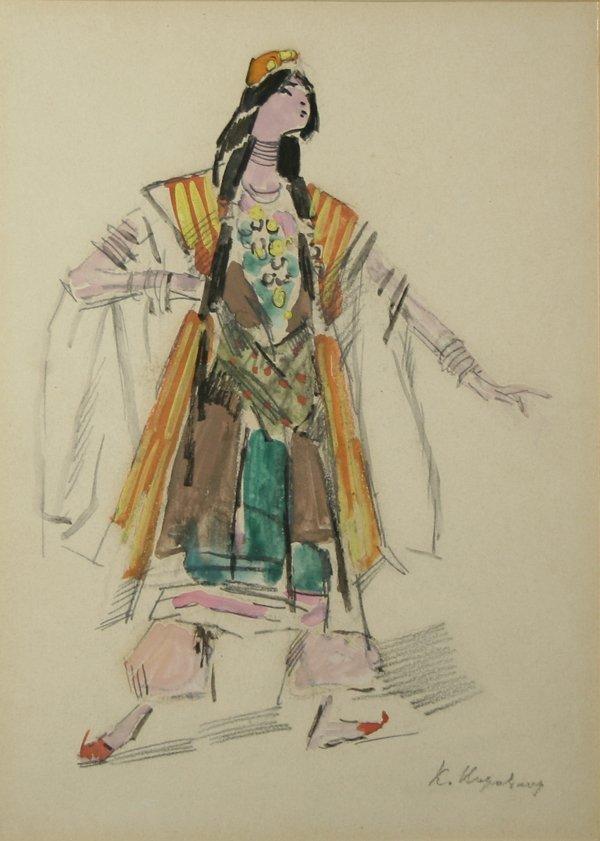 5: KOROVIN (RUSSIAN) Four Costume Designs