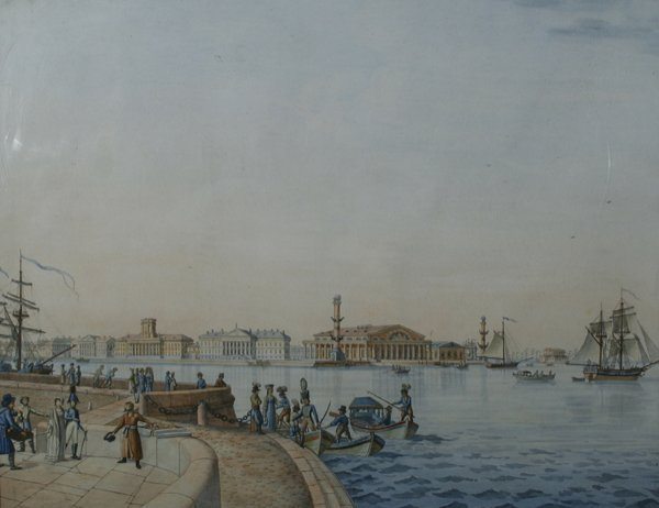 6: PATERSSEN (MANNER) RUSSIAN Watercolor, 1807