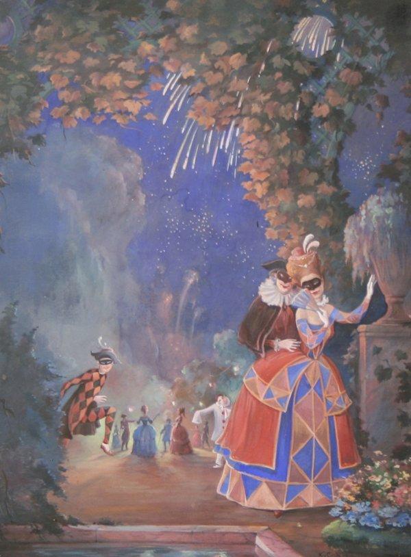 11: SOMOV (ATTR) (RUSSIAN) Fireworks mixed media