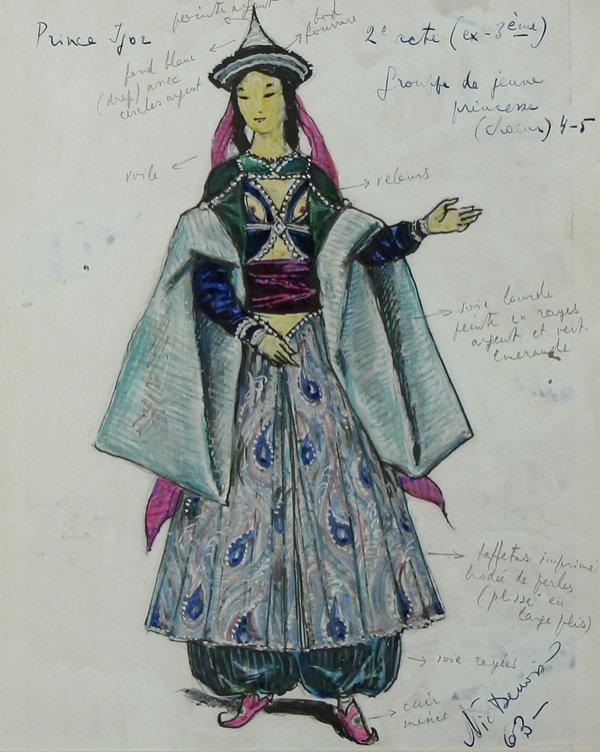 1003: BENOIS (RUSSIAN) Prince Igor Costume Design