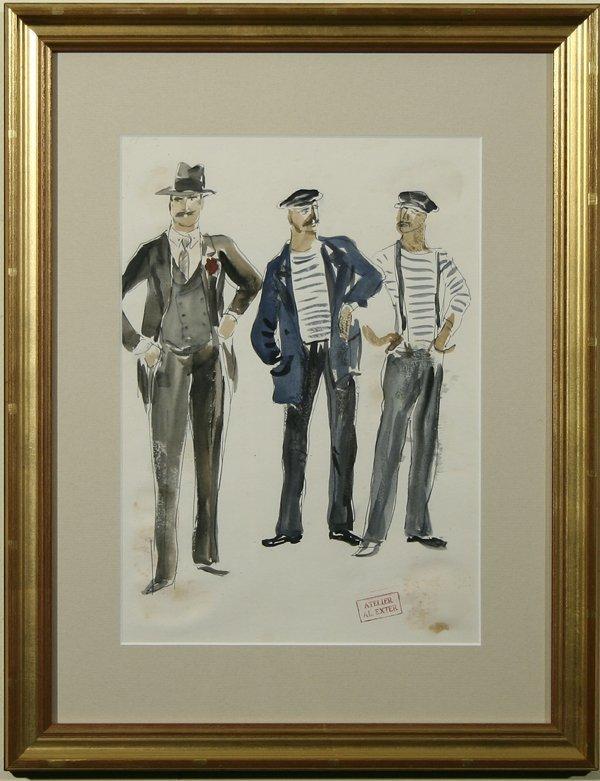 1009: EXTER (RUSSIAN) Sailors & Businessman - Costume